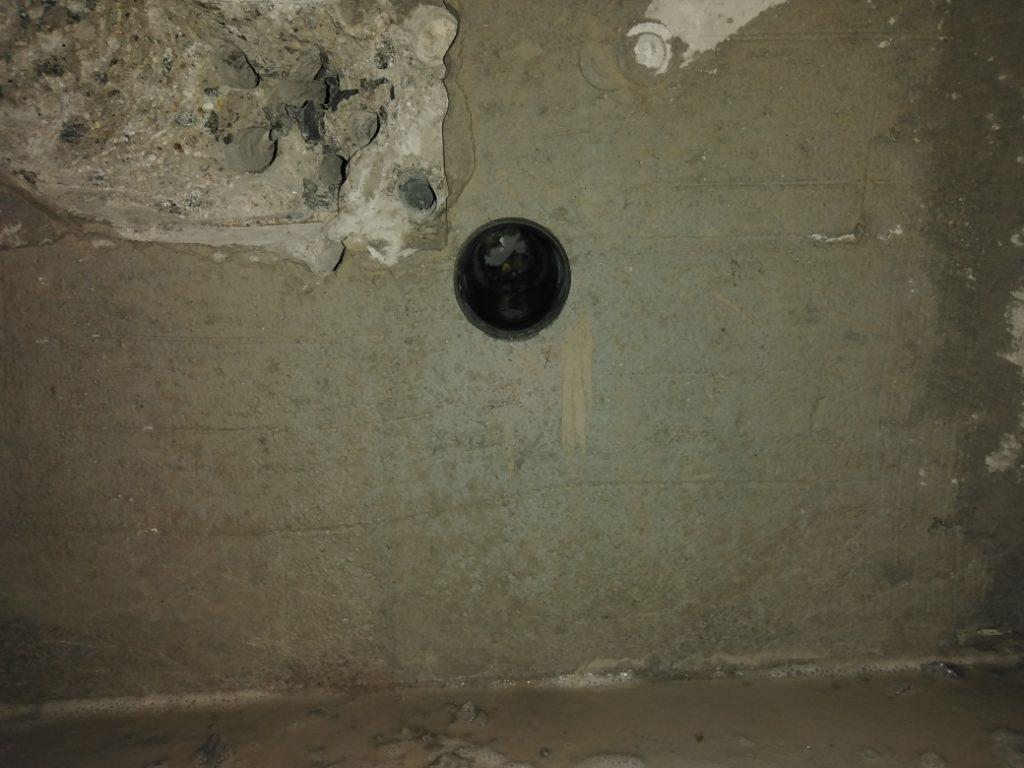 алмазное бурение стены из бетона горизонтальное